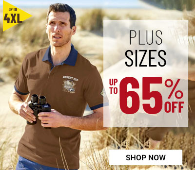 Men's plus size clothing